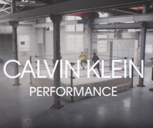 Calvin Klein Performance Fall 2019 Campaign